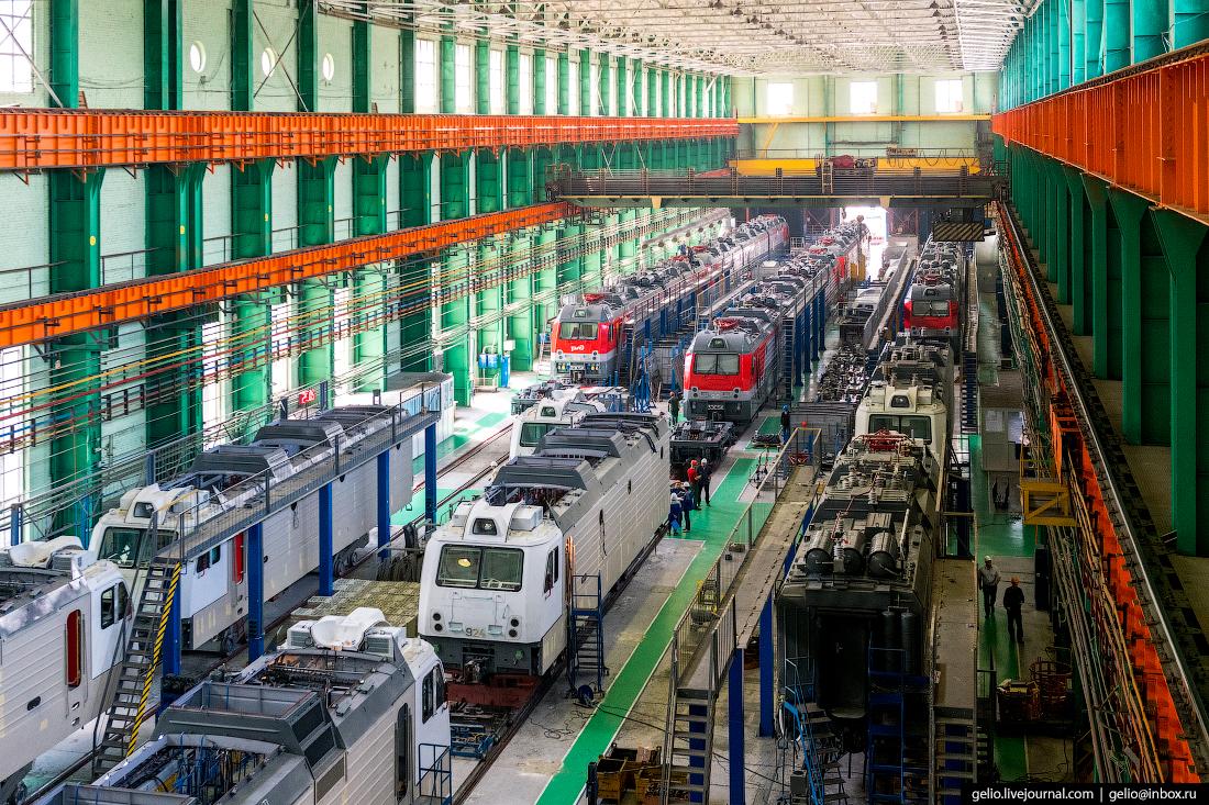 Новочеркасский электровозостроительный завод: производство локомотивов в