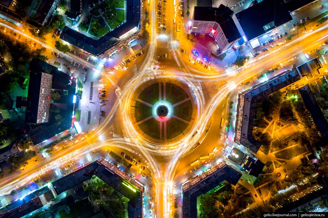 Новосибирск с высоты, Площадь Калинина