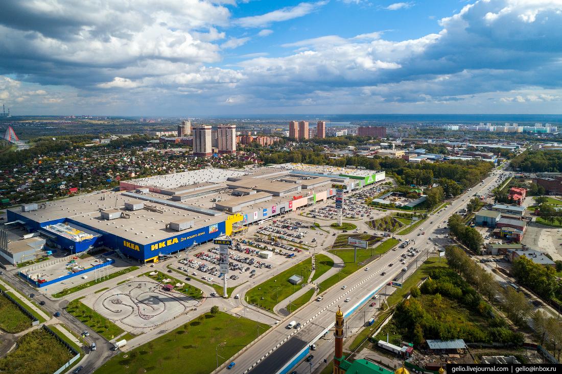 Новосибирск с высоты, МЕГА