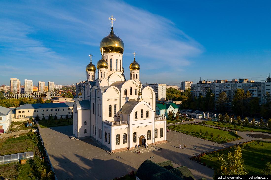 Новосибирск с высоты, Троице-Владимирский собор