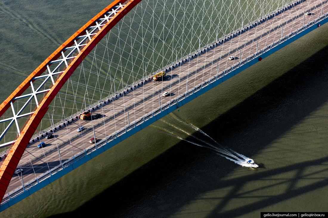 Новосибирск, Бугринский мост