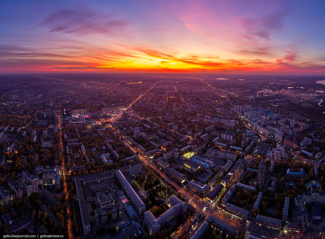 Проспект Маркса Фотографии Новосибирск с высоты