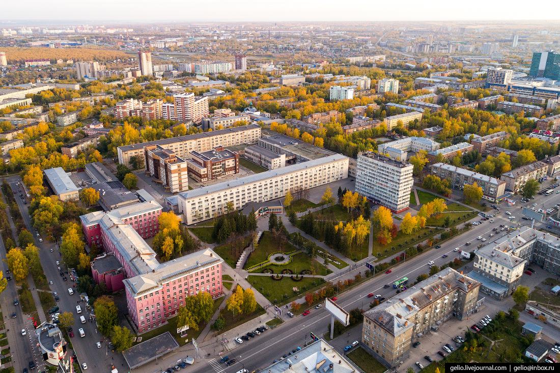 НГТУ Новосибирский государственный технический университет Фотографии Новосибирск с высоты