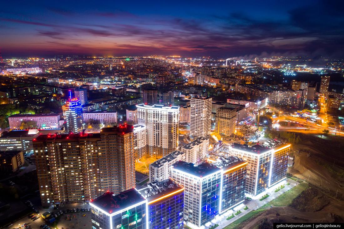 Жилой комплекс панорама Фотографии Новосибирск с высоты