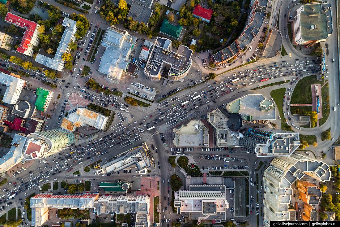 Проспект Димитрова Фотографии Новосибирск с высоты