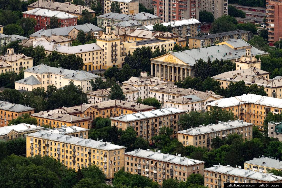 Улица Богдана Хмельницкого Фотографии Новосибирск с высоты