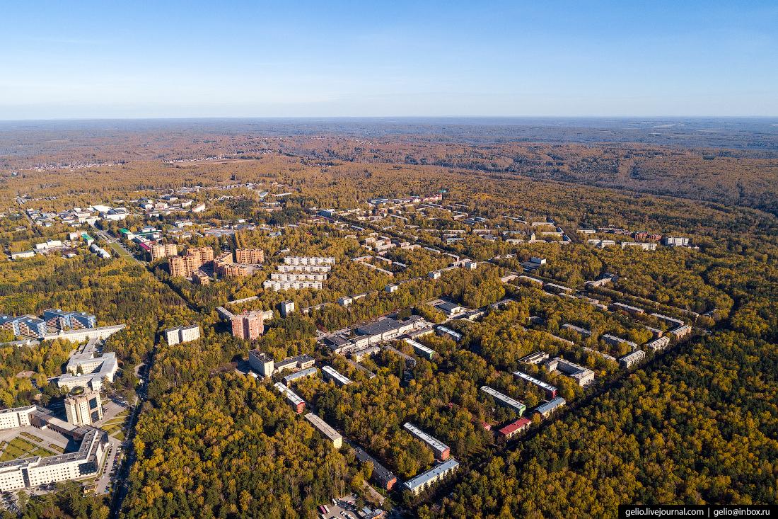 Академгородок Фотографии Новосибирск с высоты