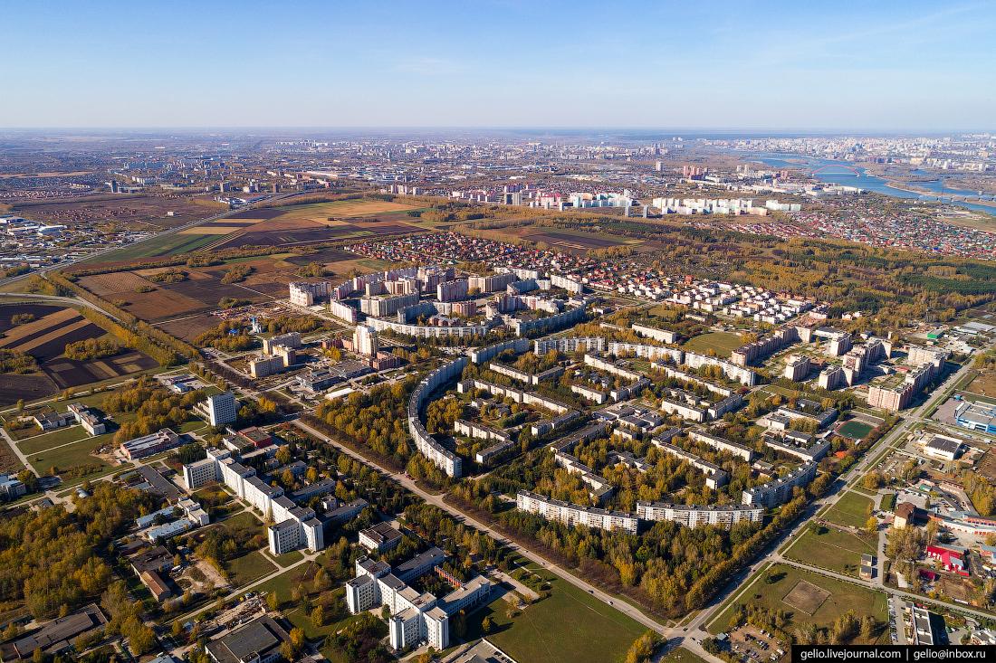 краснообск васхнил Фотографии Новосибирск с высоты
