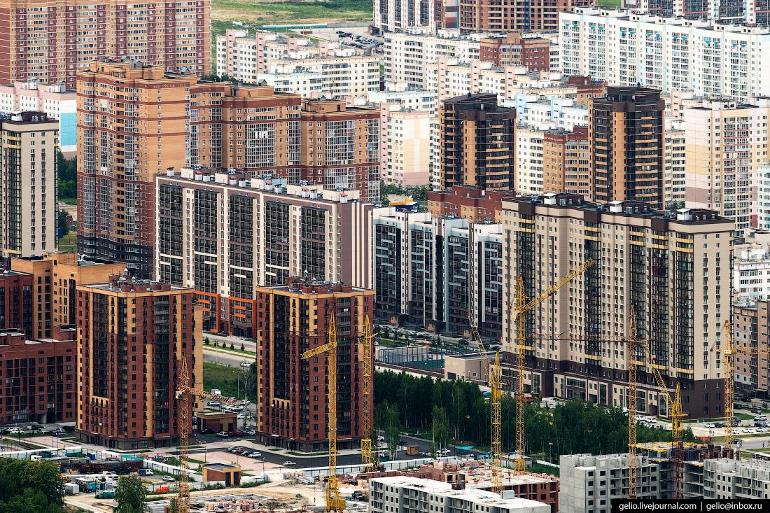 Микрорайон родники Фотографии Новосибирск с высоты