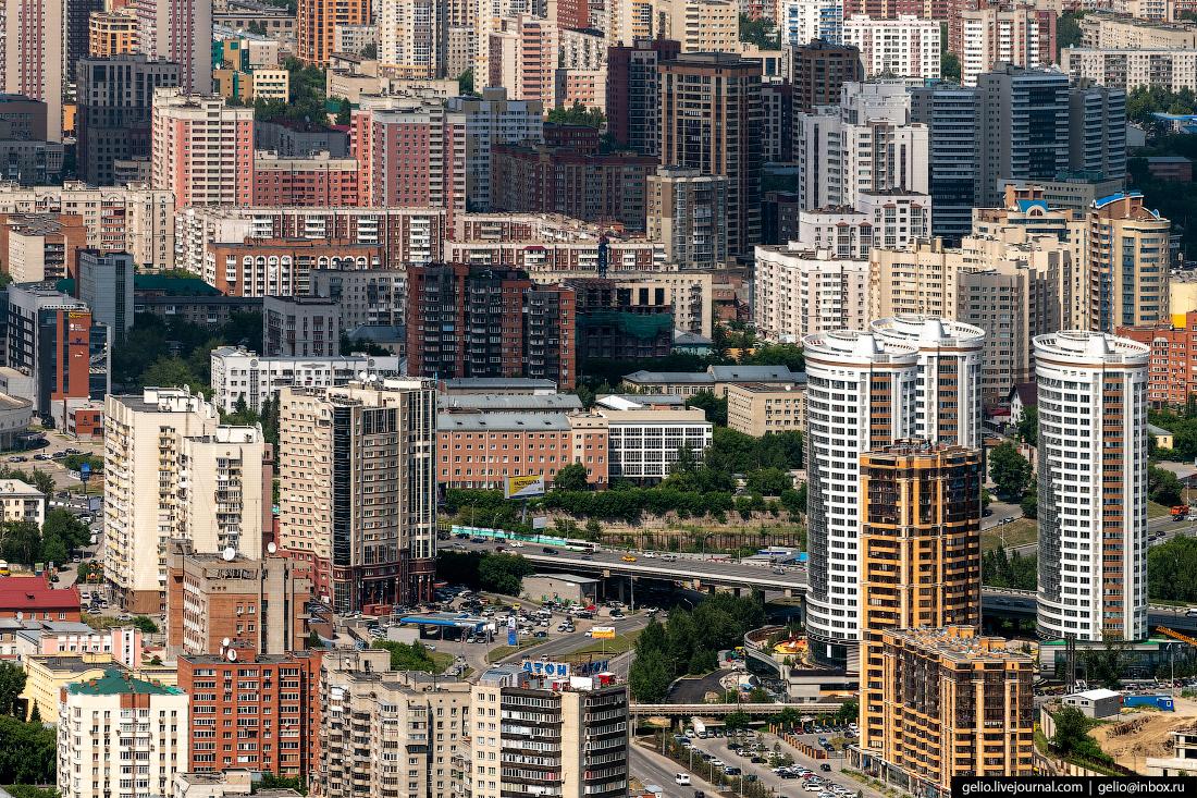 Фотографии Новосибирск с высоты