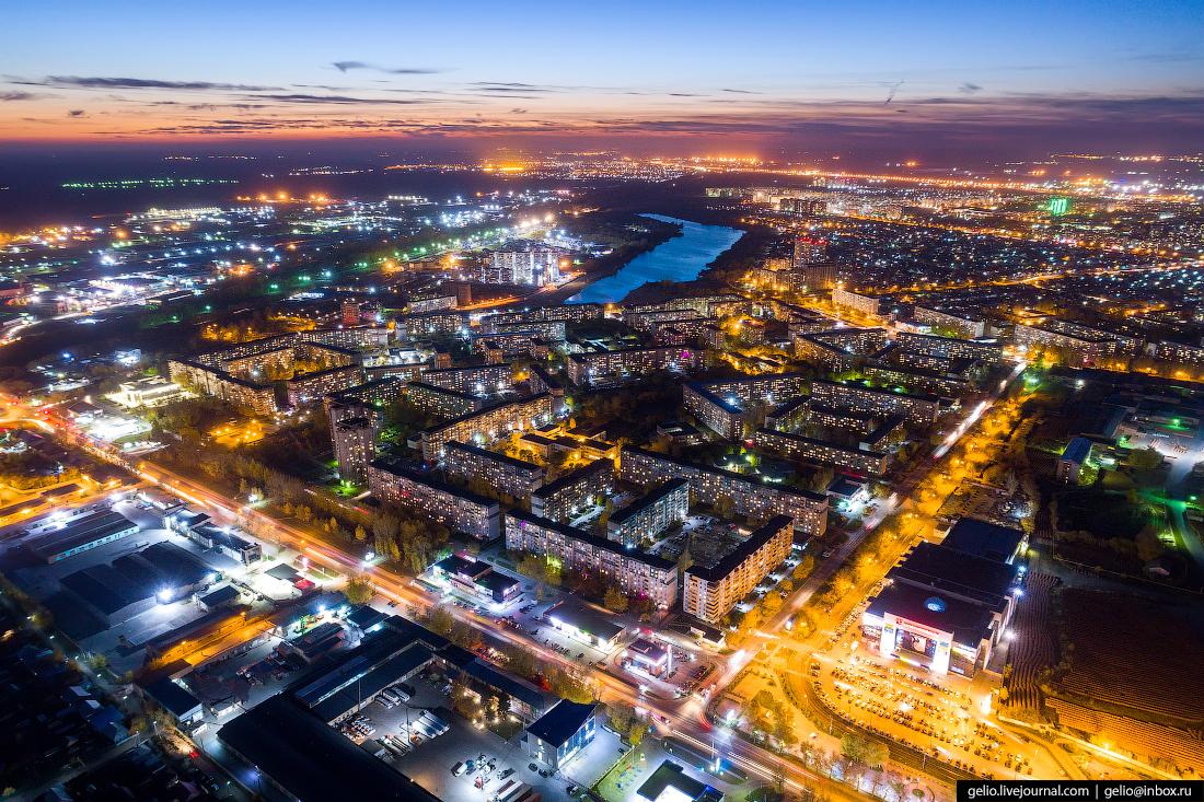 Юго-Западный жилмассив Фотографии Новосибирск с высоты