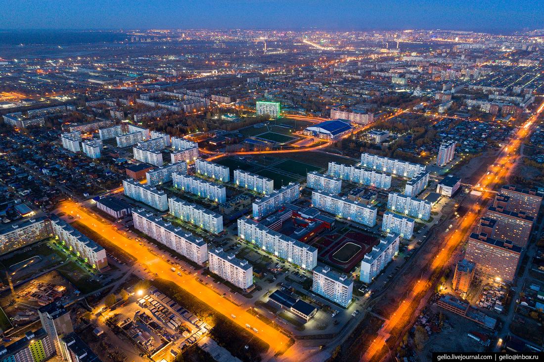 Микрорайон чистая слобода Фотографии Новосибирск с высоты