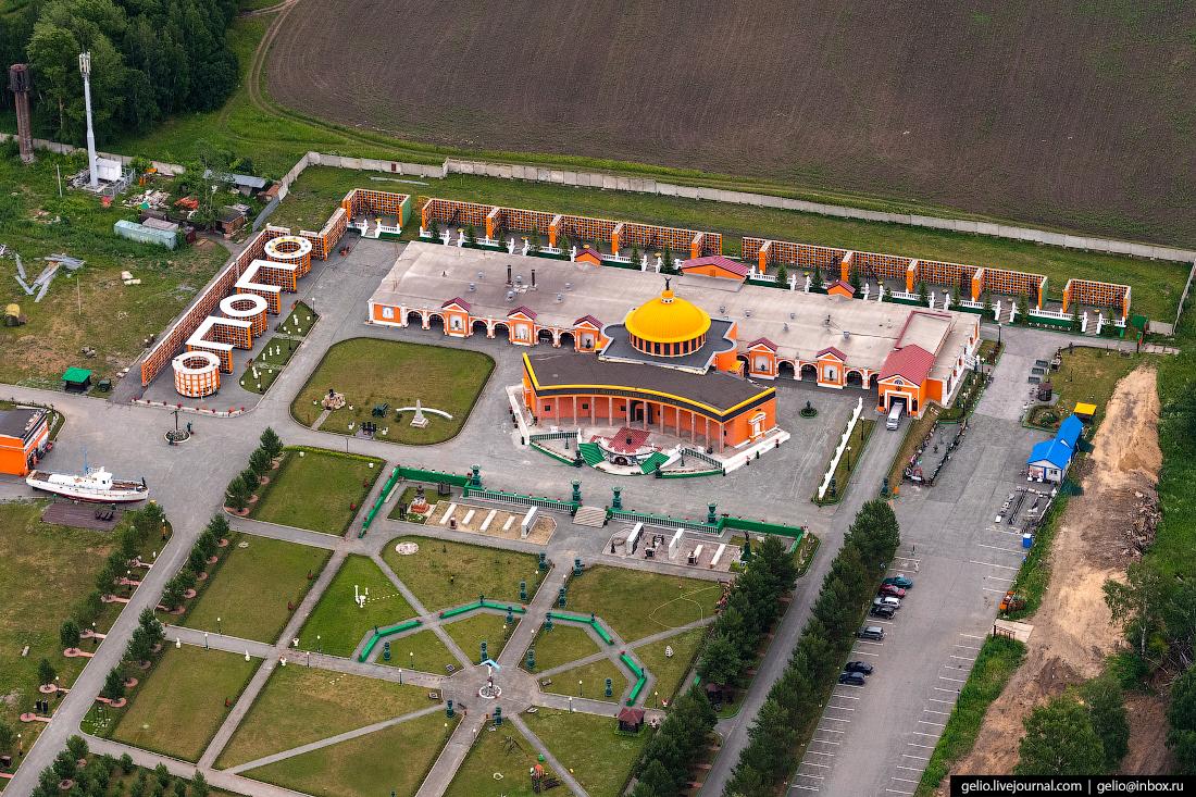 крематорий Фотографии Новосибирск с высоты
