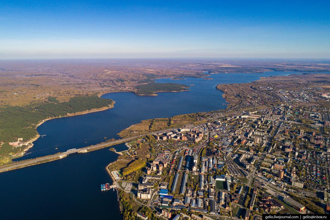 Бердск и Бердский залив
