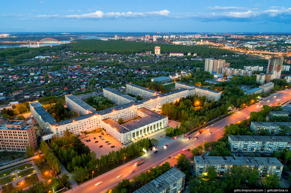 Новосибирская областная клиническая больница Фотографии Новосибирск с высоты