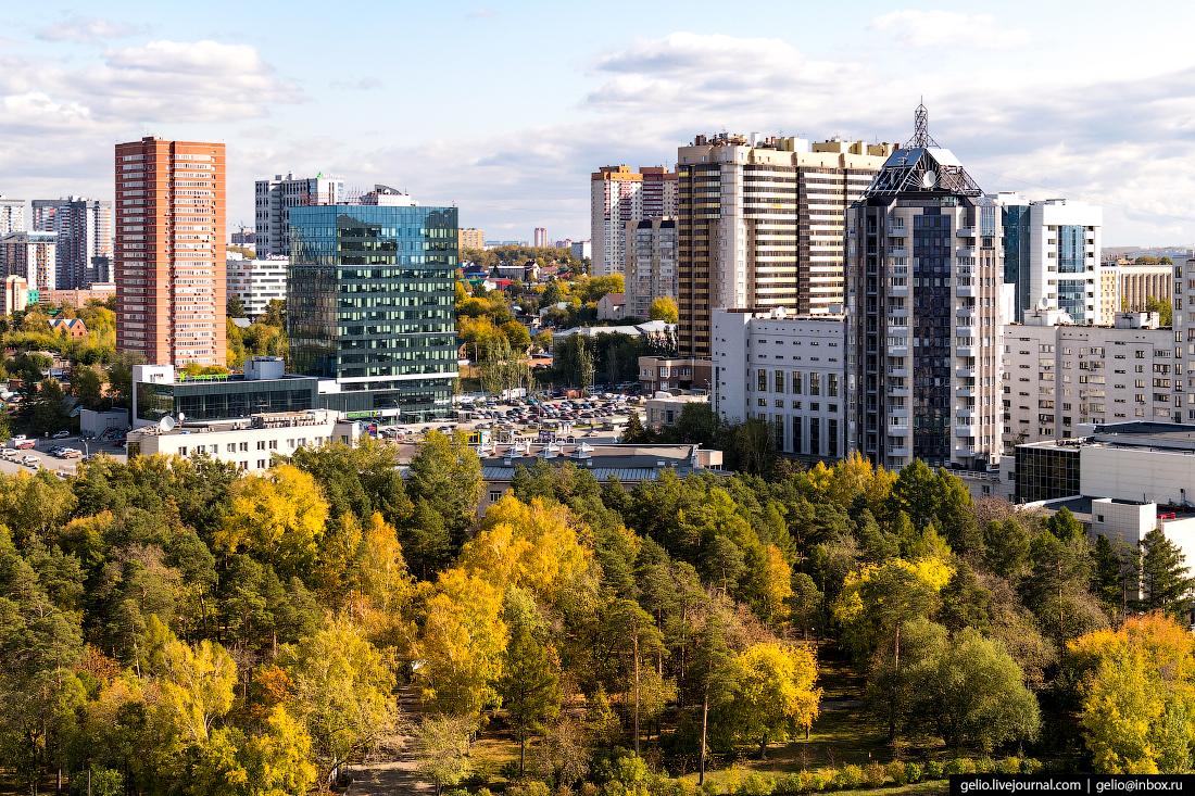 сад кирова Фотографии Новосибирск с высоты