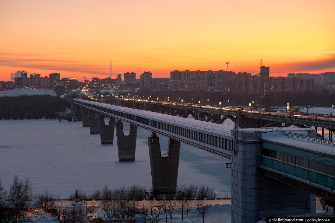 Новосибирск метромост