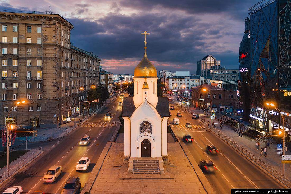 Новосибирск часовня