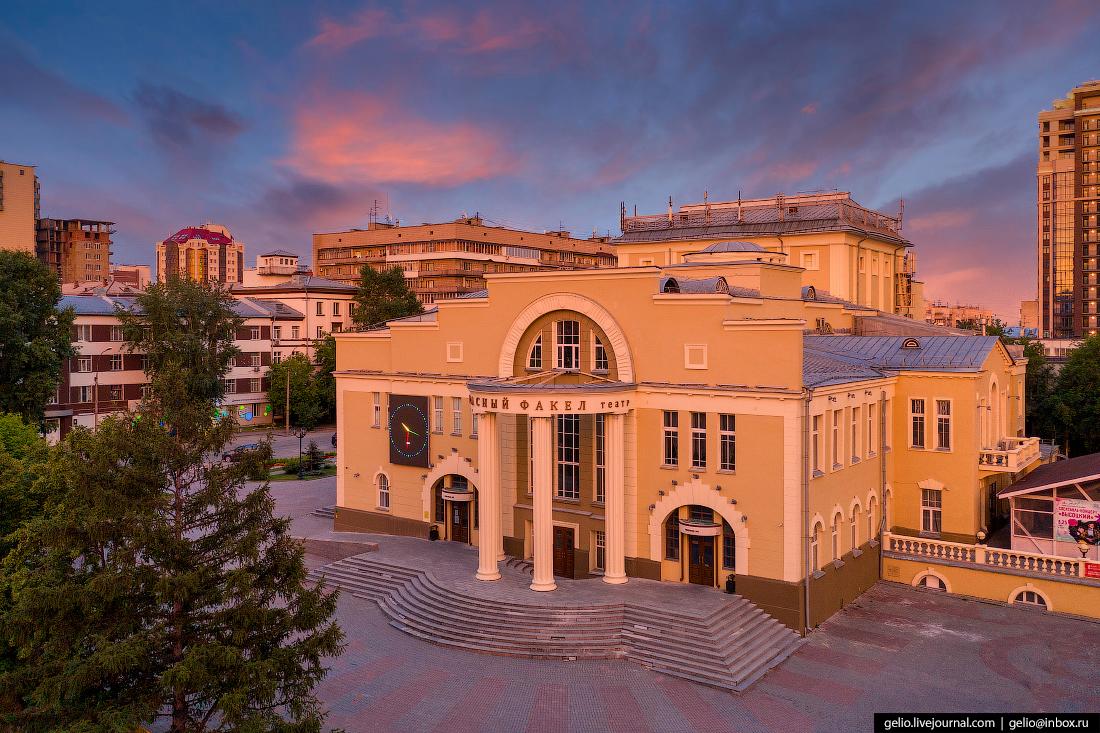 Новосибирск театр красный факел