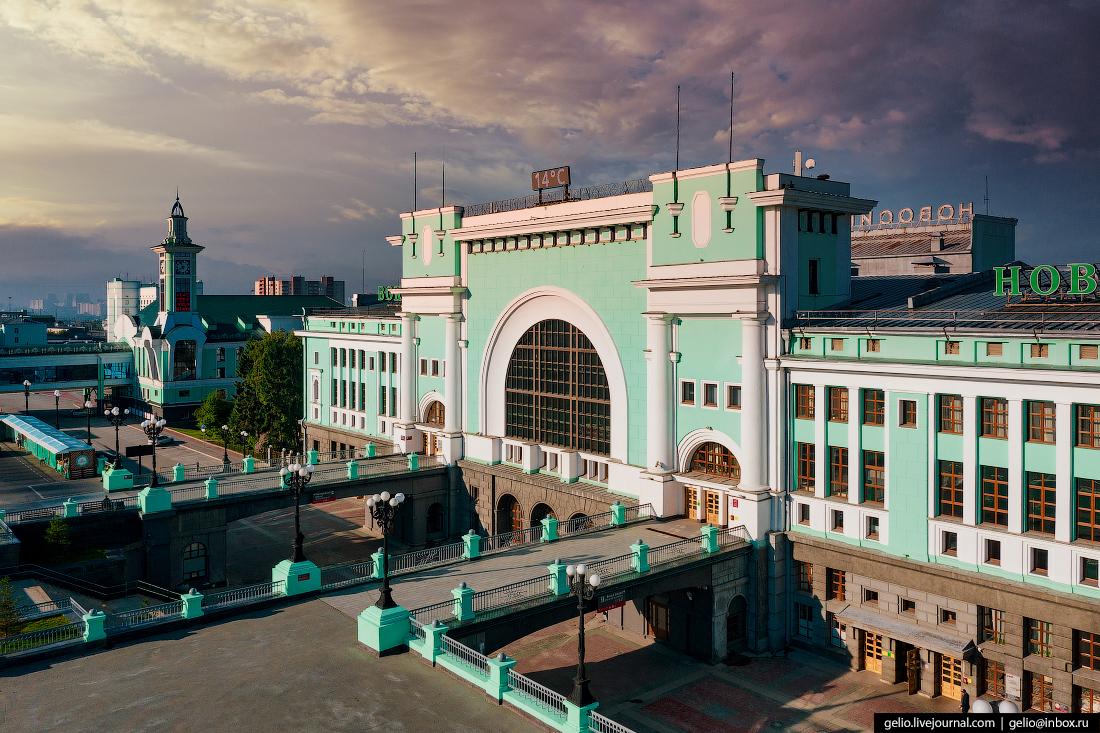 Новосибирск вокзал железнодорожный