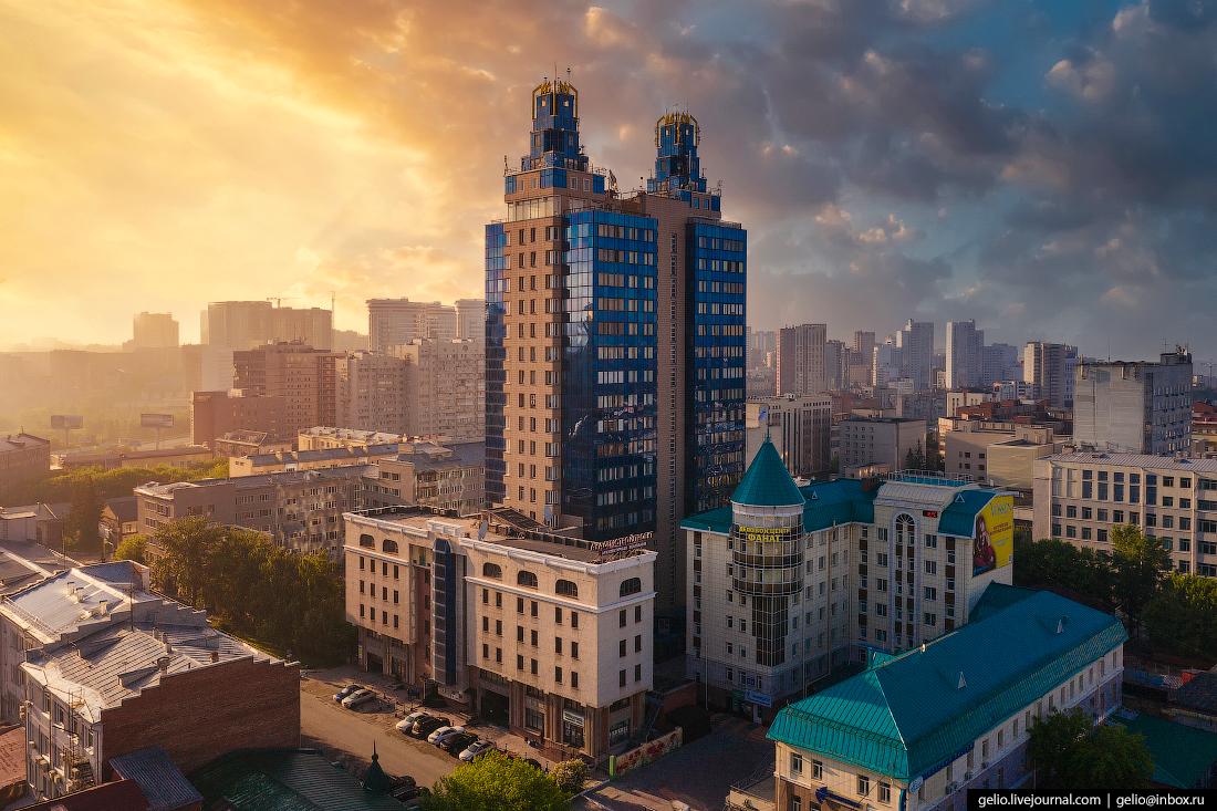 Новосибирск с высоты бэтмен