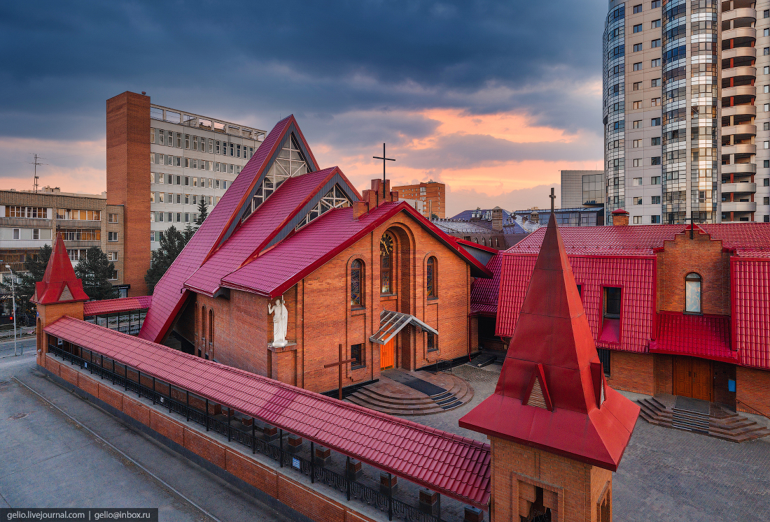 Новосибирск Католический Кафедральный собор