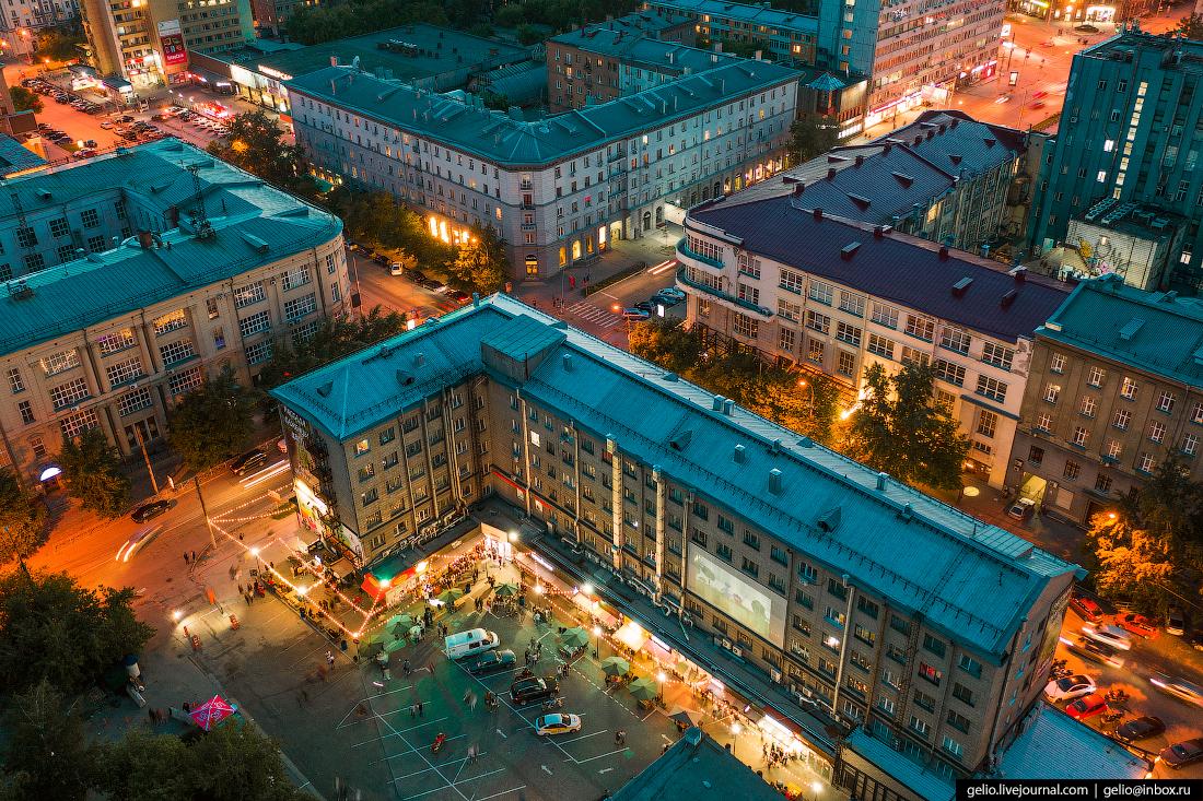 Новосибирск двор гостиницы Центральная фуд-корт