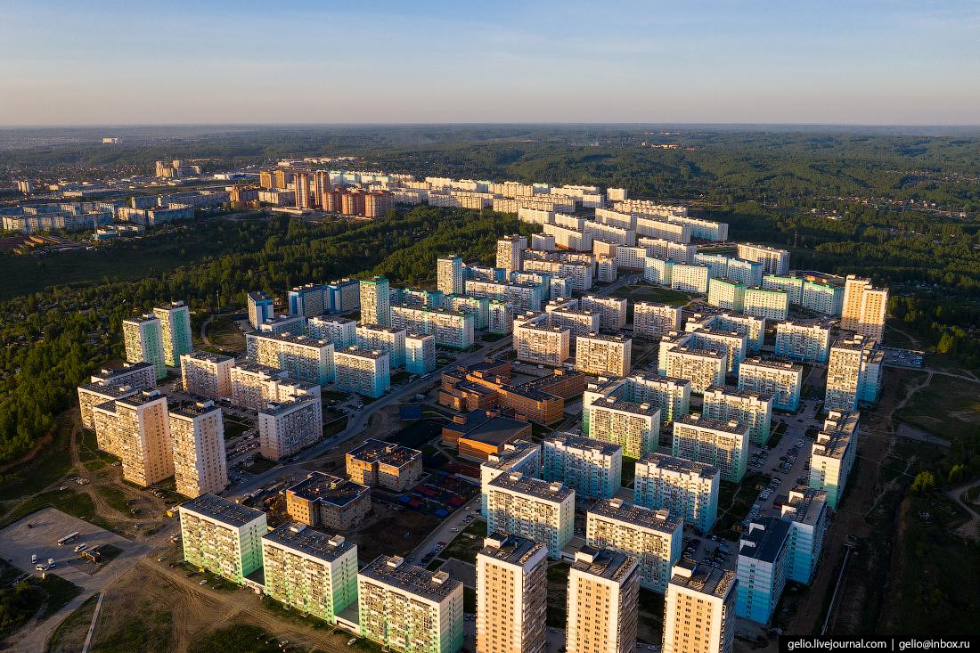 Новосибирск Плющихинский жилмассив