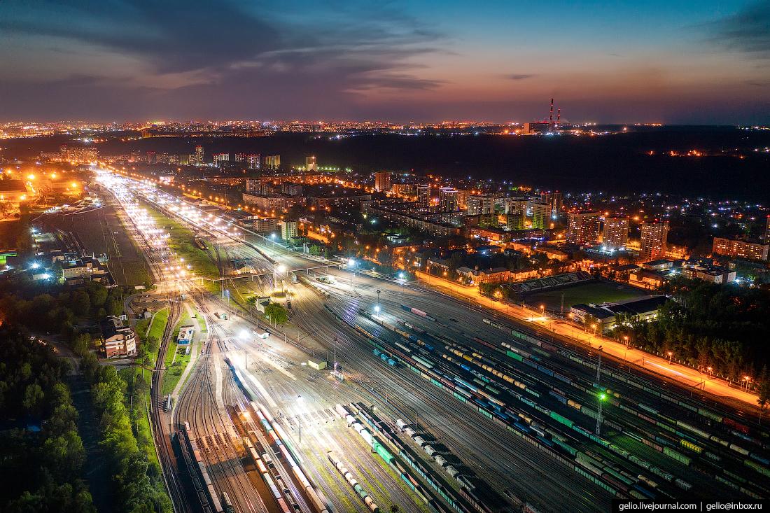 Новосибирск Инская сортировка ржд железная дорога