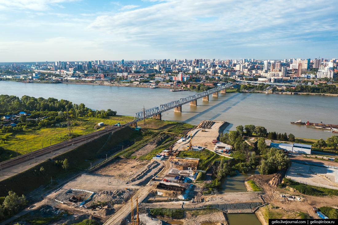 Новосибирск строительство четвёртого моста