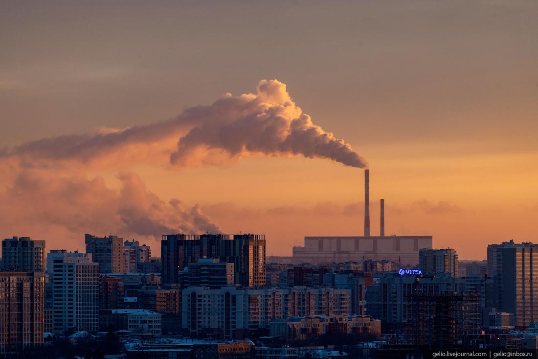 Зимний Новосибирск, ТЭЦ-5