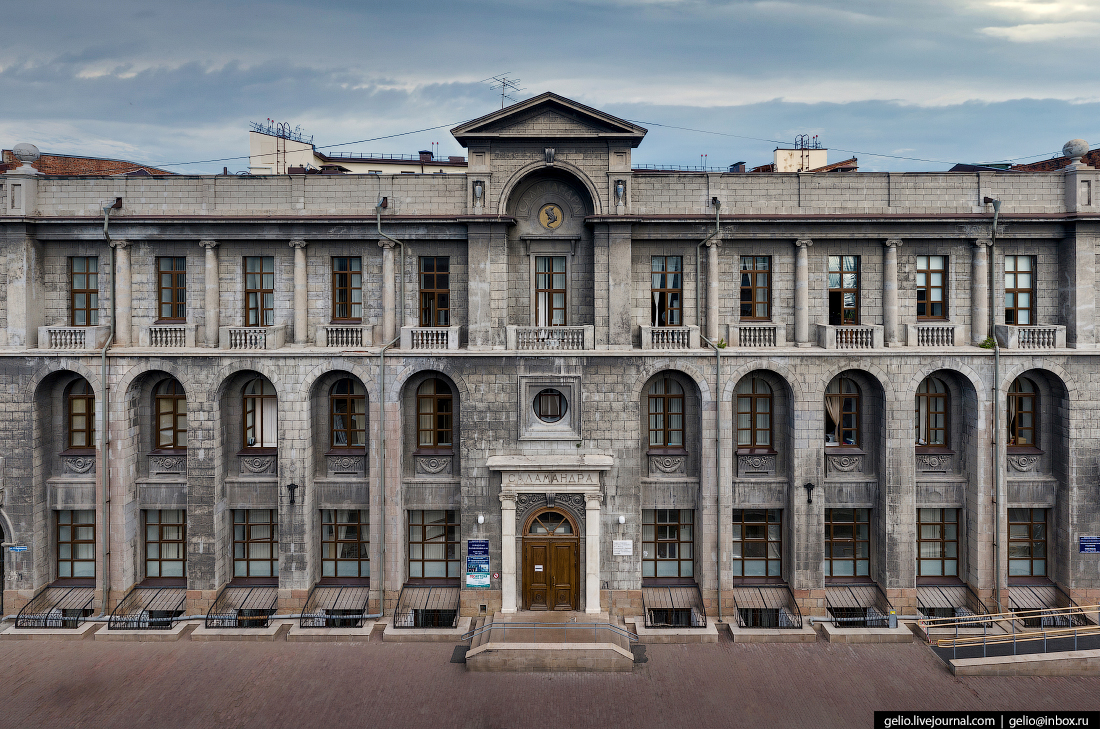 Фото Омска с высоты Саламандра
