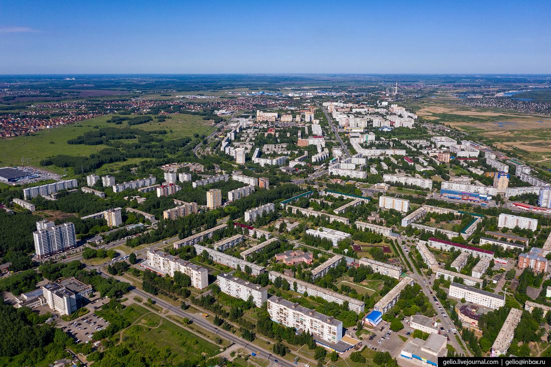 Фото Омска с высоты Микрорайоны