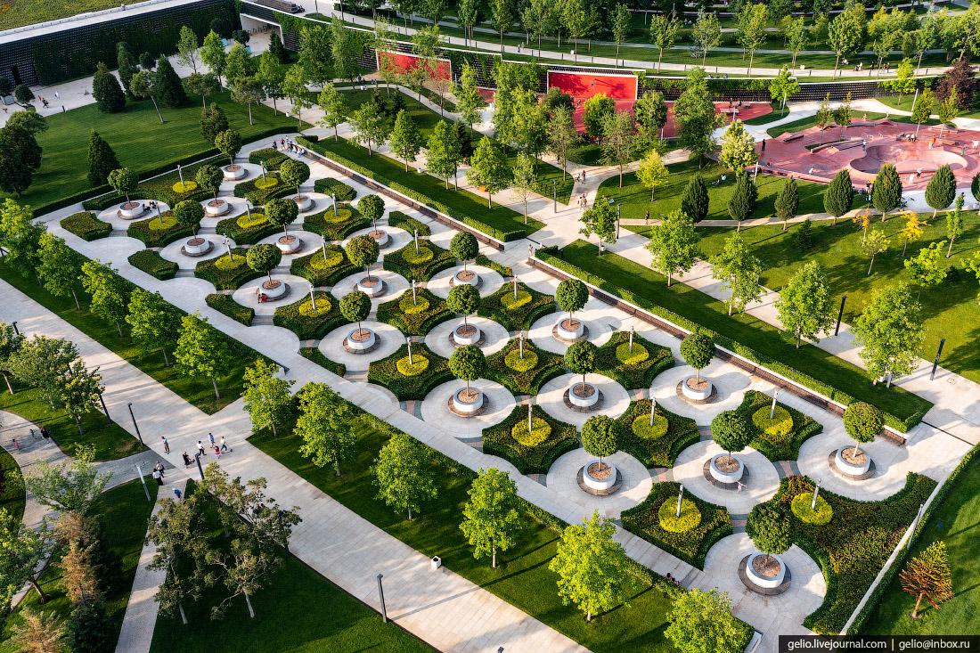 парк галицкого, парк краснодар, Французский сад