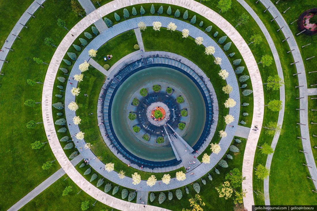 парк галицкого, парк краснодар, инфинити