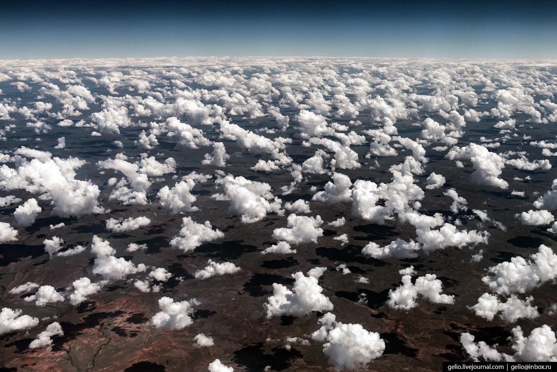 Попкорн из окна самолёта, из иллюминатора