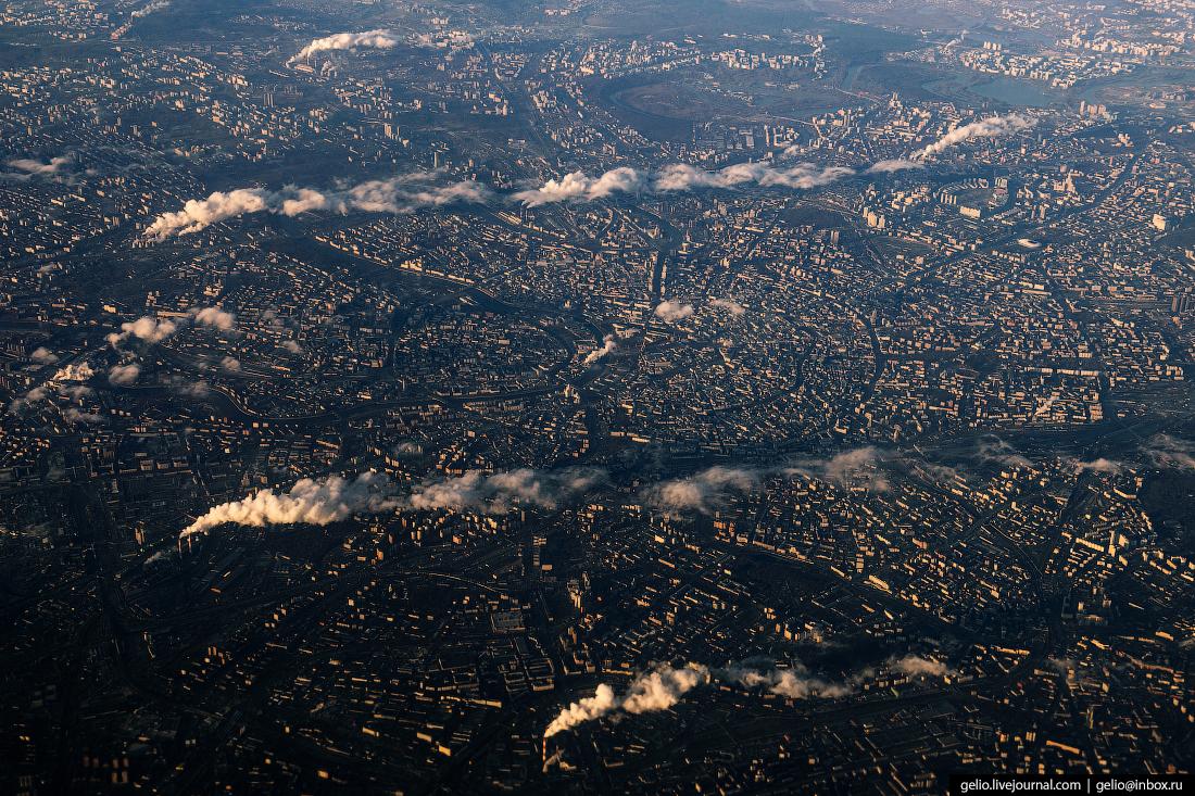 Фотографии из окна самолёта москва тэц