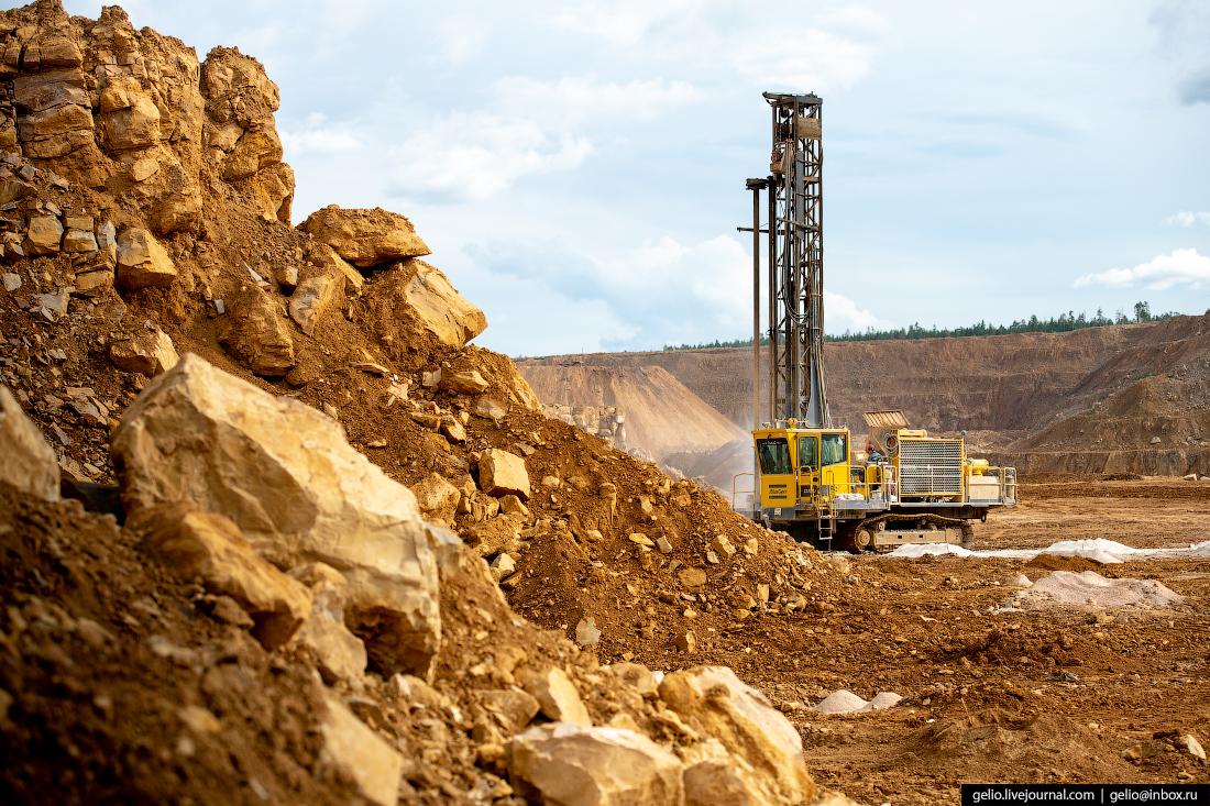 полюс добыча золота буровые установки