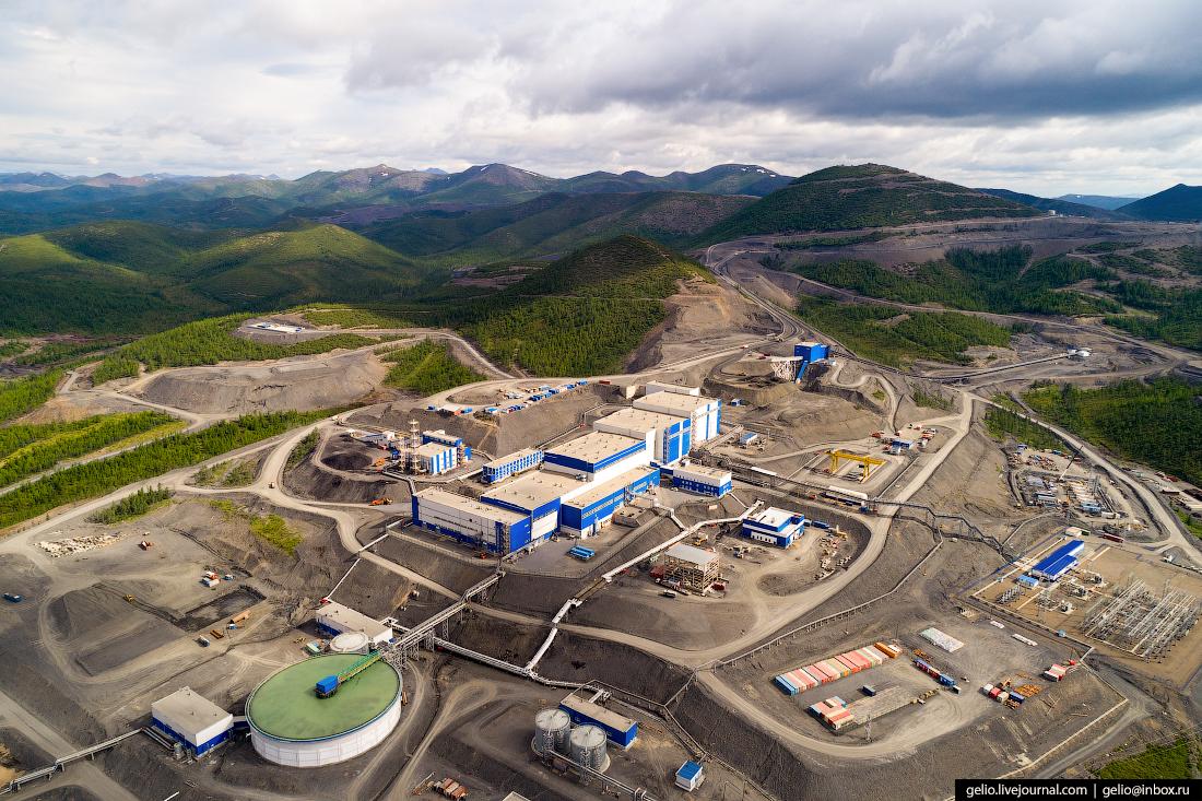 полюс добыча золота Золотоизвлекательная фабрика