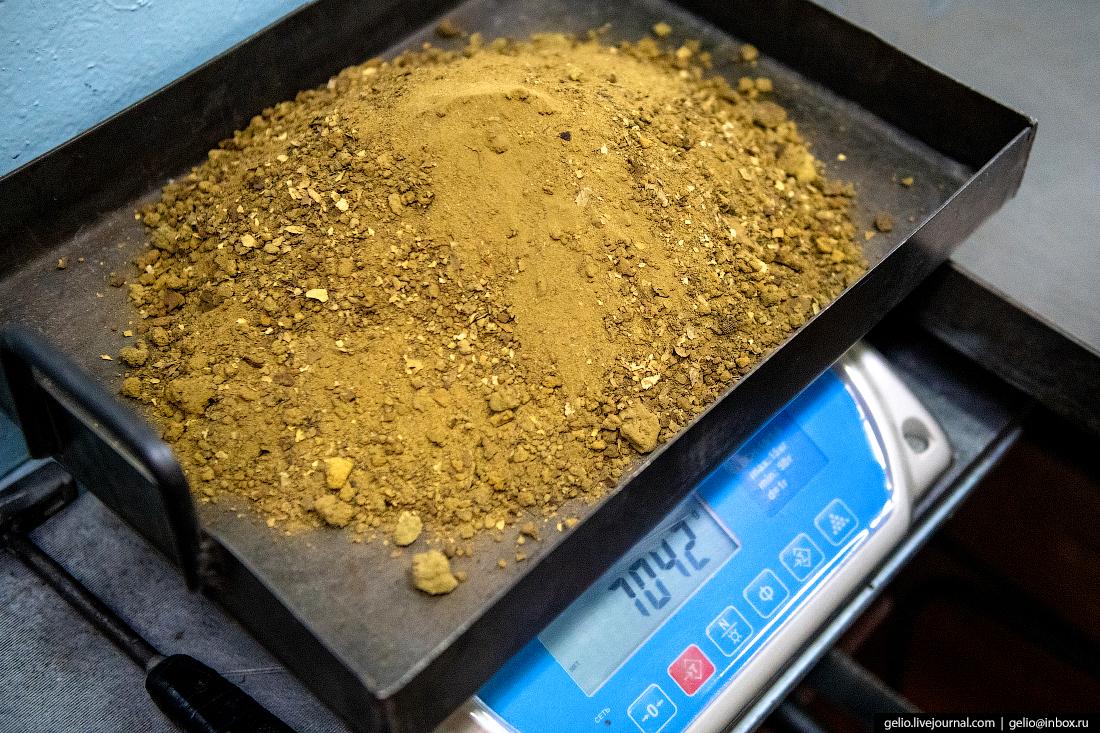 полюс добыча золота флотация