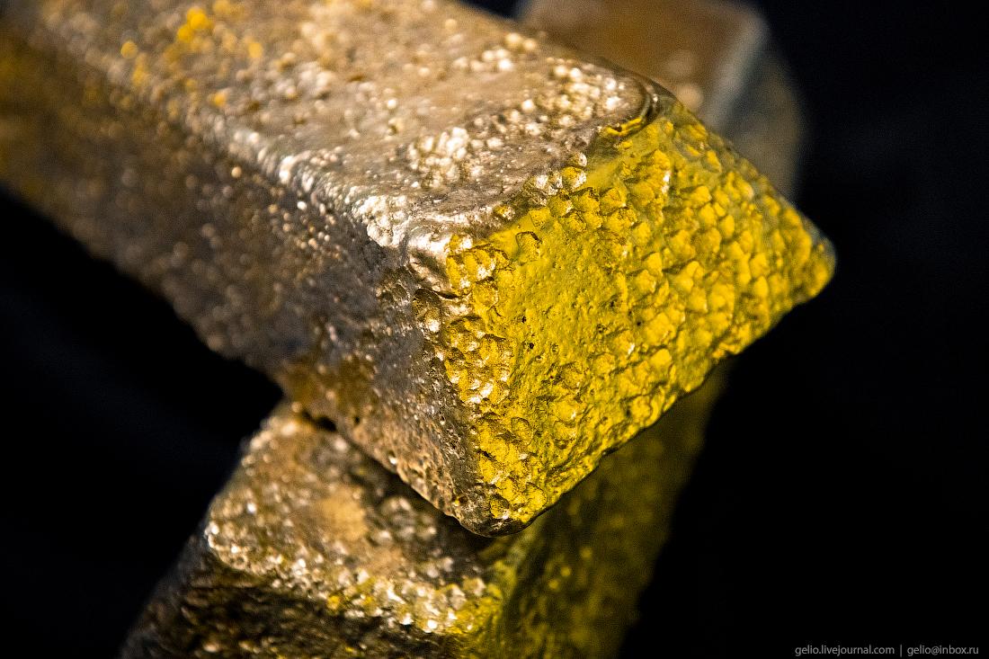 полюс добыча золота