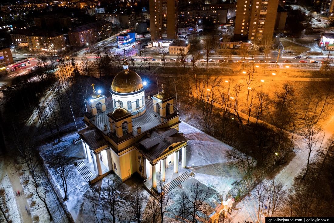 Петрозаводск с высоты, Собор Александра Невского