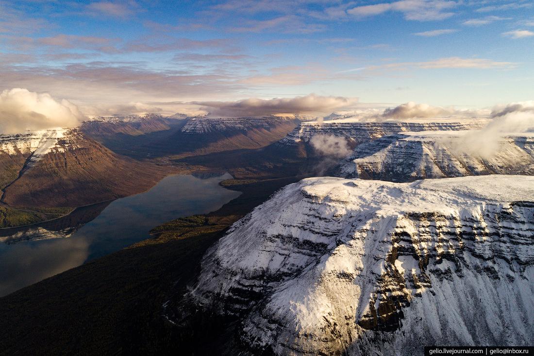 Плато Путорана — горы без вершин