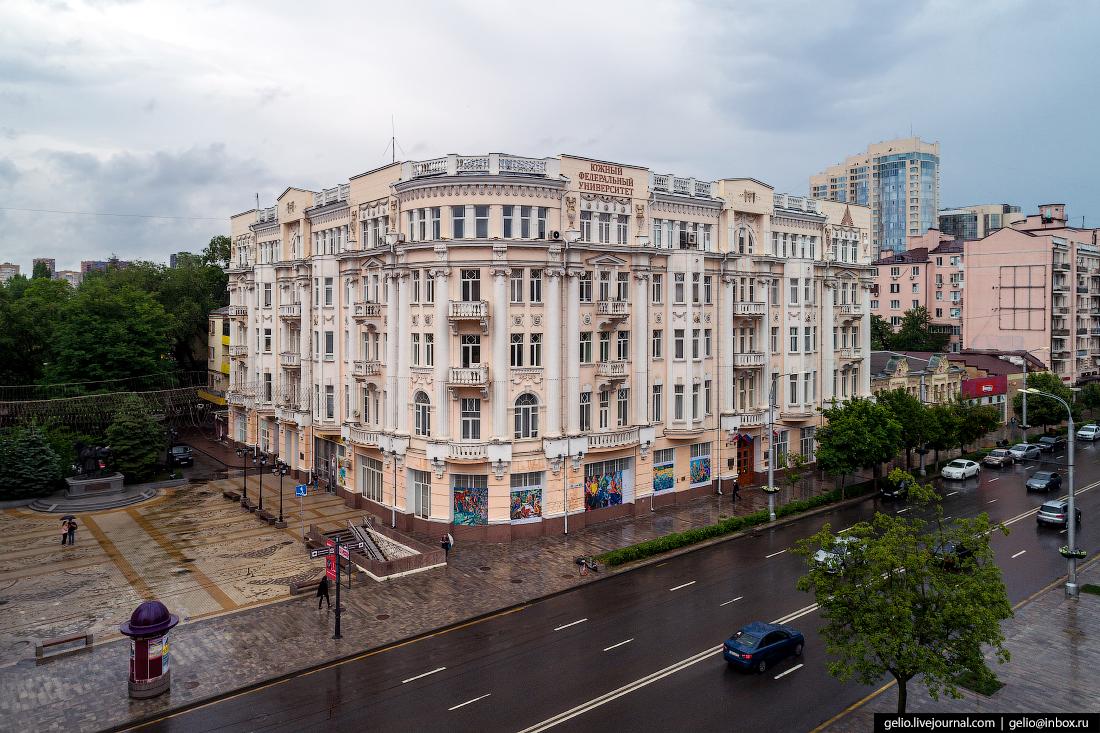 Ростов-на-Дону с высоты Южный Федеральный Университет
