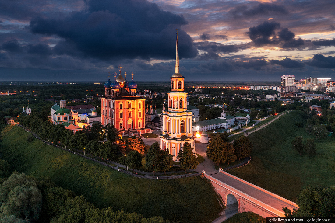 рязань, рязанский кремль
