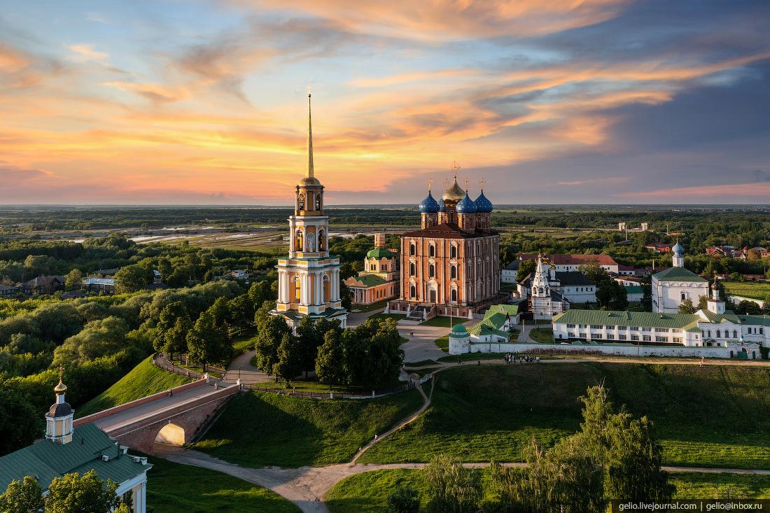 рязань, рязанский кремль, Глебовский мост