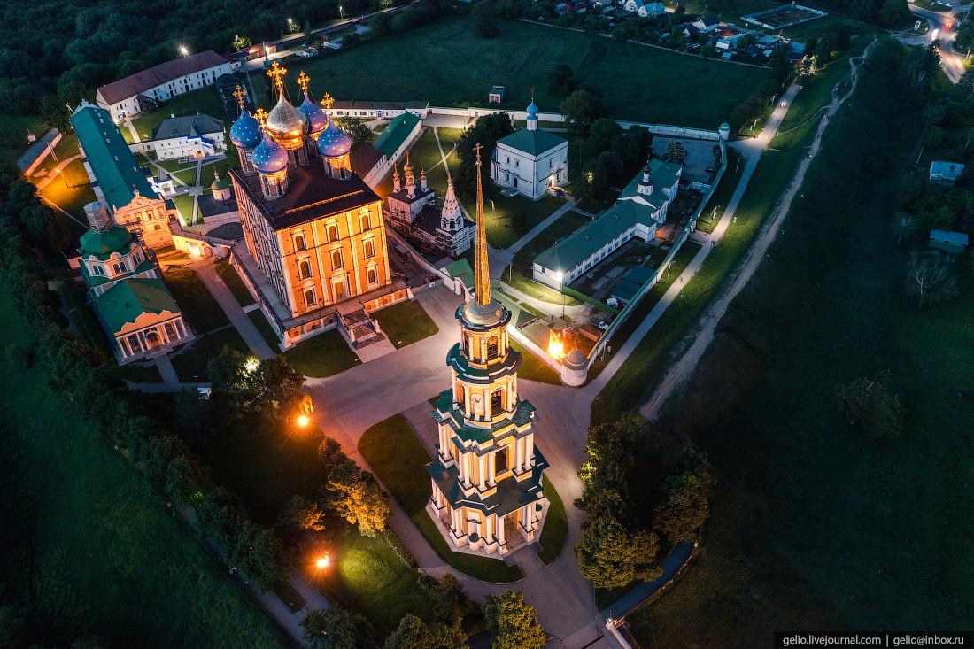 рязань, рязанский кремль, успенский собор
