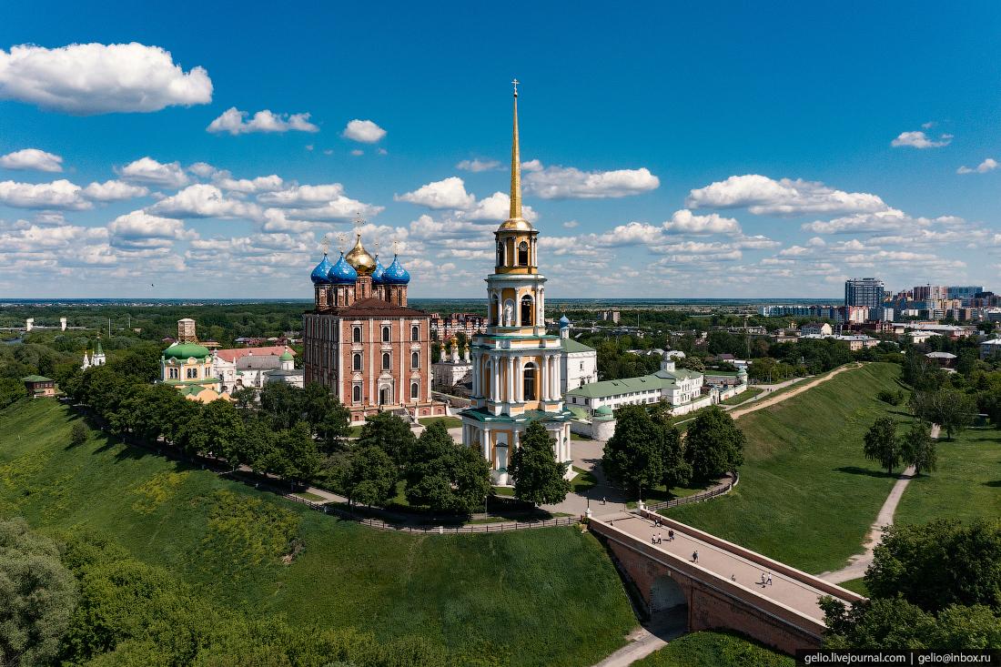 рязань, рязань с высоты, кремль