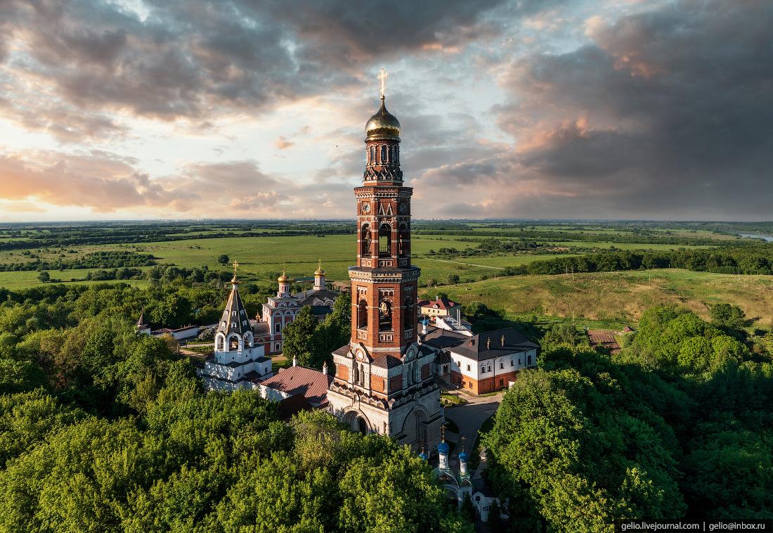рязань, Иоанно-Богословский мужской монастырь