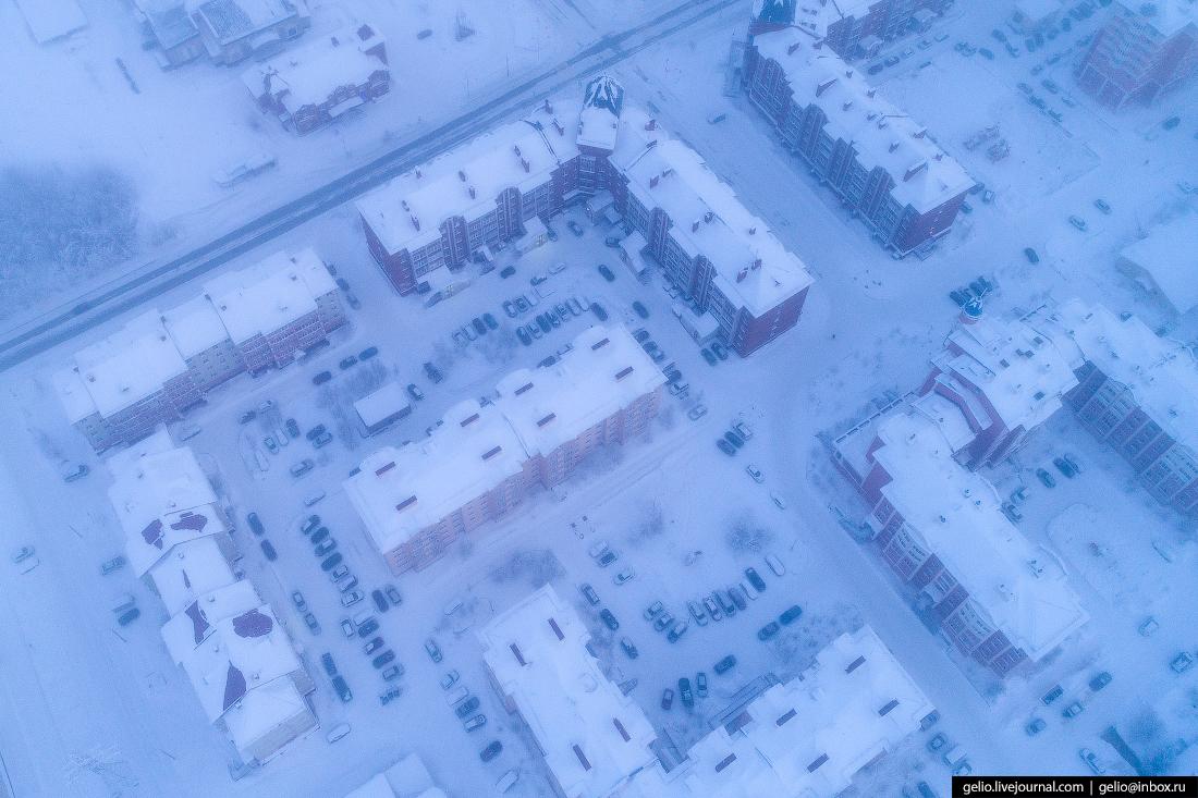 Салехард с высоты, Ямал